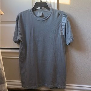 Grey Comfort Colors Men's Tee
